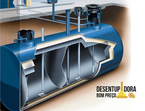 Serviço de limpeza de tanques de armazenamento de combustível